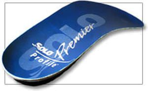 3-4 length orthopedic insole PROFILE Solo Laboratories