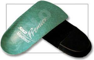 3-4 length orthopedic insole with heel pad MAXISHOCK Solo Laboratories