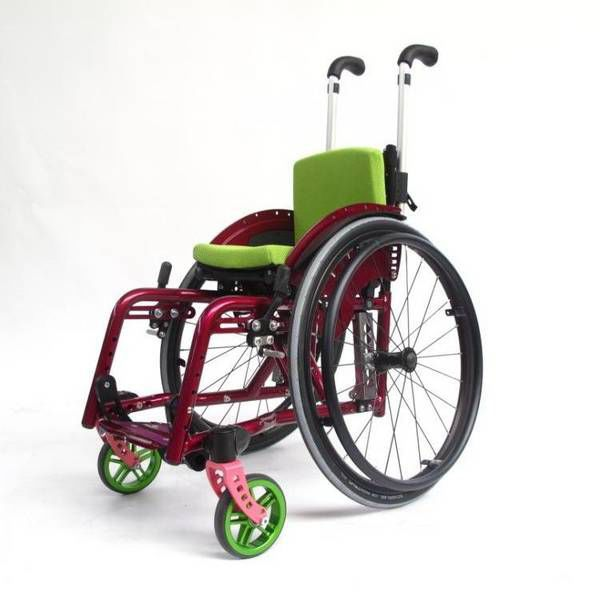 Active wheelchair / pediatric Jump alpha SORG Rollstuhltechnik