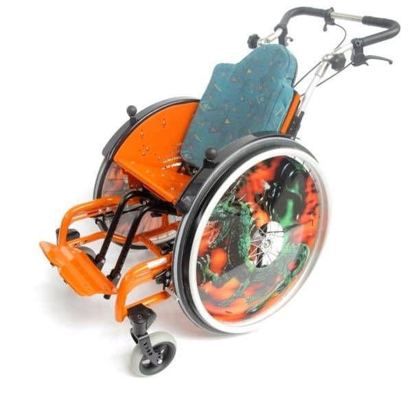 Active wheelchair / pediatric Tilty Vario SORG Rollstuhltechnik