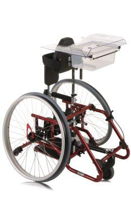 Pediatric standing frame Pablo Mini SORG Rollstuhltechnik