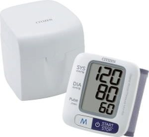 Automatic blood pressure monitor / electronic / wrist 0 - 280 mmHg   CH-650 Citizen Systems Japan
