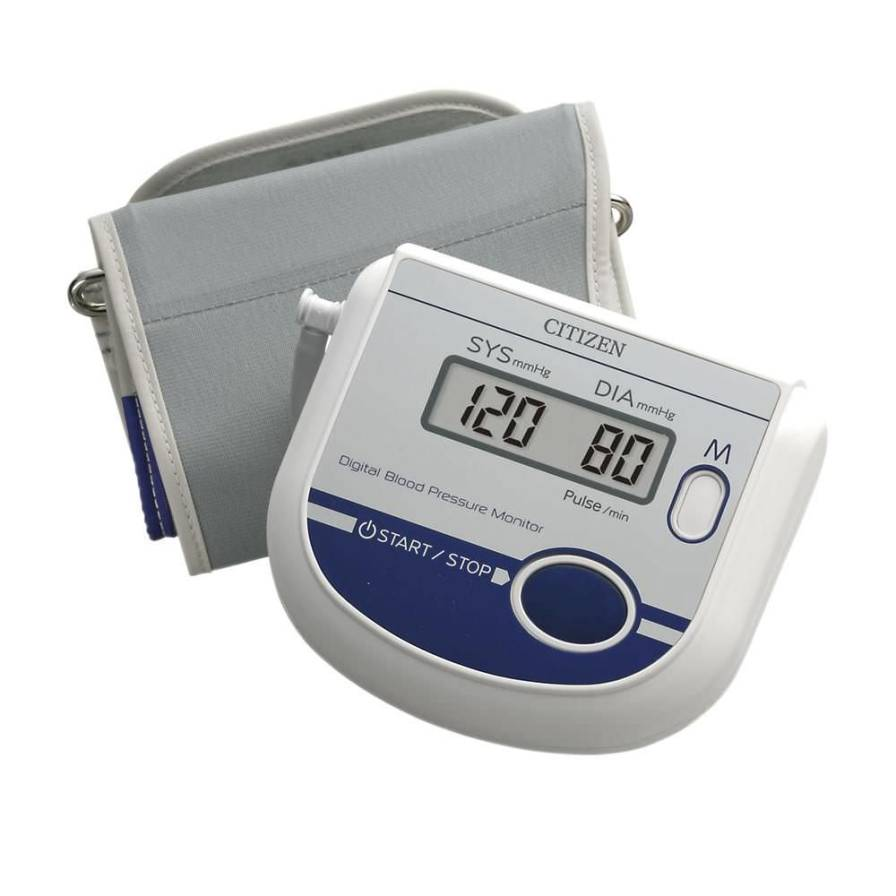 Automatic blood pressure monitor / electronic / arm 0 - 280 mmHg   CH-452 Citizen Systems Japan
