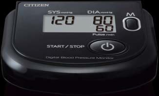 Automatic blood pressure monitor / electronic / arm 0 - 280 mmHg   CH-453 (BLACK) Citizen Systems Japan