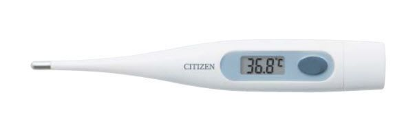 Medical thermometer / electronic 32.0°C ... 42.9°C   CTA303 Citizen Systems Japan