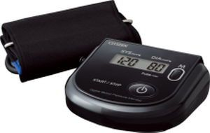 Automatic blood pressure monitor / electronic / arm 0 - 280 mmHg   CH-452 ?BLACK? Citizen Systems Japan