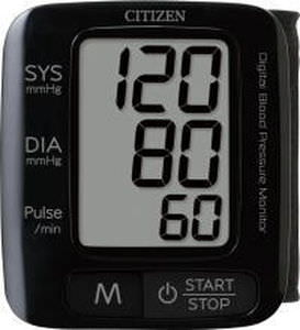 Automatic blood pressure monitor / electronic / wrist 0 - 280 mmHg   CH-650 ?BLACK? Citizen Systems Japan