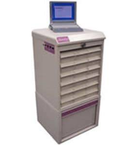 Storage cabinet / medicine / for healthcare facilities / with drawer MedHub S&S Technology