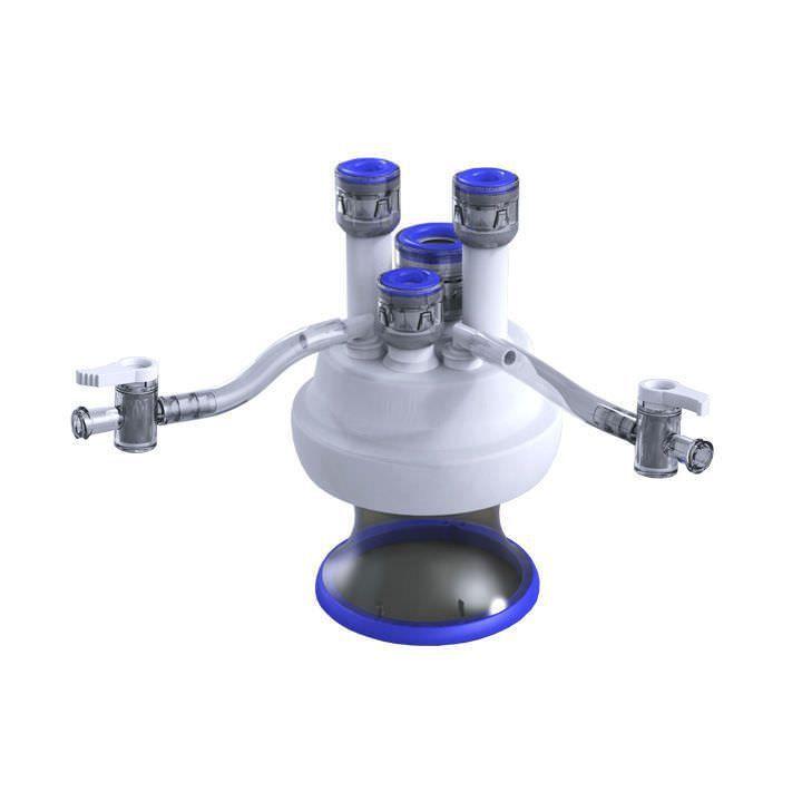 Multi-instrument laparoscopic port Lapsingle Sejong Medical