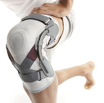 Knee orthosis (orthopedic immobilization) / with flexible stays MED Nea International