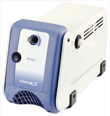 Laboratory vacuum pump / diaphragm VP 220 VWR