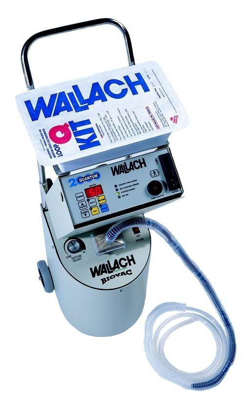 Monopolar cutting HF electrosurgical unit / monopolar coagulation Quantum 2000™ Wallach Surgical Devices