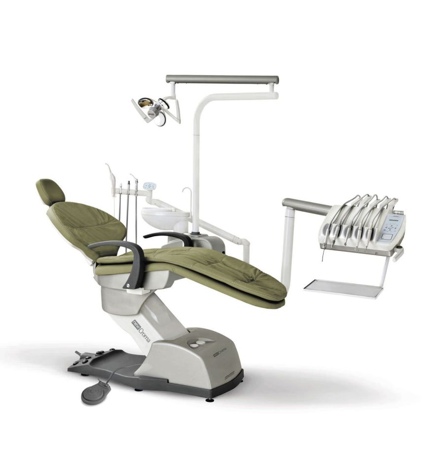 Dental treatment unit with delivery system / with lamp CROMA HASTEFLEX 2216 DABI ATLANTE