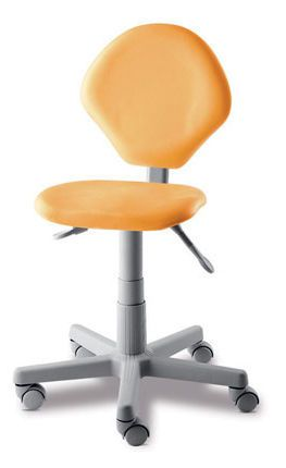 Dental stool / height-adjustable / on casters / with backrest ERGORELAX DABI ATLANTE