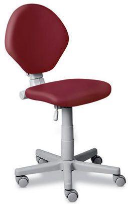 Dental stool / on casters / height-adjustable / with backrest ERGORELAX BASICO DABI ATLANTE