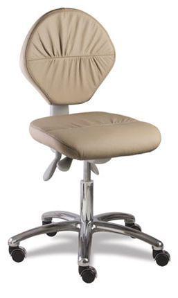 Dental stool / height-adjustable / on casters / with backrest ERGORELAX PREMIUM DABI ATLANTE