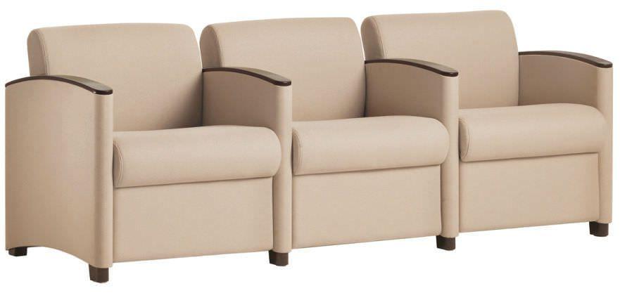 Waiting room armchair / bariatric Capital Front Edge WIELAND