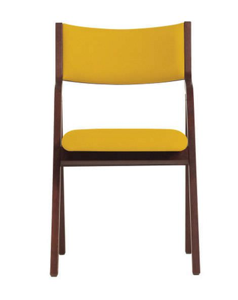 Dining room chair / for healthcare facilities / folding / ergonomic plyfold WIELAND