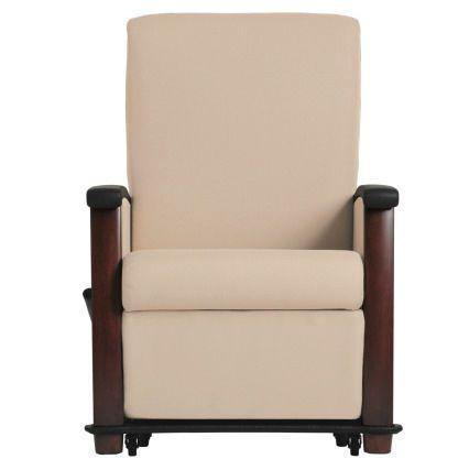 Medical sleeper chair with legrest / on casters / reclining / adjustable versant 54WH981W, 54H981U, 54WH981U WIELAND