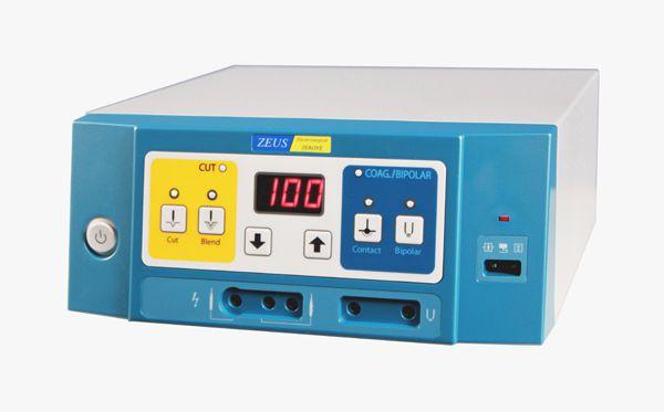 Bipolar coagulation HF electrosurgical unit / bipolar cutting / surgery / ophthalmology ZEUS-100/80 ZERONE