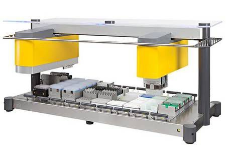 Laboratory liquid handling robotic workstation Neon150 Xiril