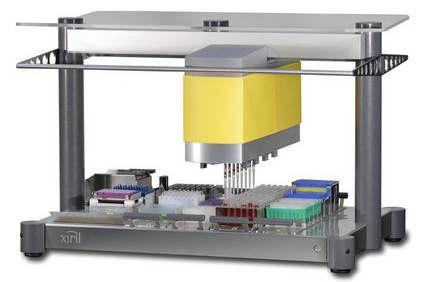 Laboratory liquid handling robotic workstation Neon100 Xiril