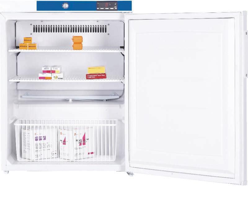 Pharmacy refrigerator / built-in / bench-top / 1-door 82 L Woodley Equipment