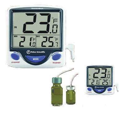 Laboratory thermometer / electronic / probe -50 °C ... +70 °C | Jumbo Woodley Equipment