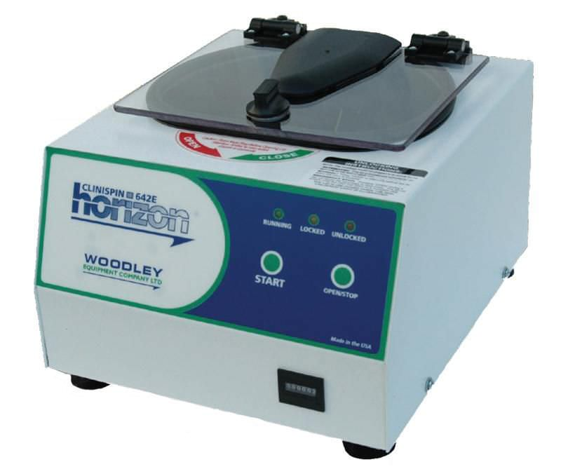 Laboratory centrifuge / compact / bench-top / automatic 3 800 rpm | Clinispin horizon 642E Woodley Equipment