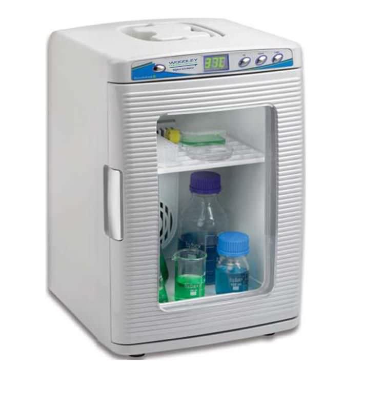 Compact laboratory incubator / flask -15 °C ... +60 °C, 20 L | EZ-Heat™ Woodley Equipment