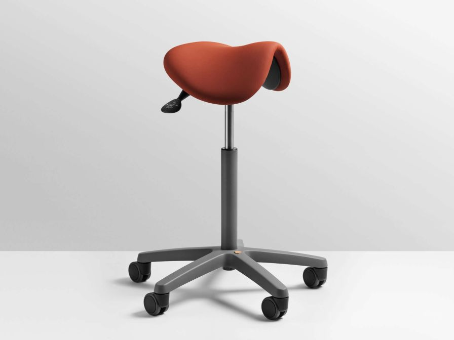Dental stool / on casters / saddle seat XO Seat XO CARE