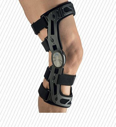 Knee orthosis (orthopedic immobilization) / knee ligaments stabilisation / articulated FKB - ANTERIOR United Surgical
