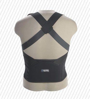 Posture corrective orthosis (orthopedic immobilization) / vertebral hyperextention POSTURE United Surgical