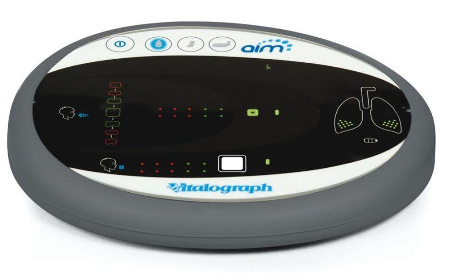 Aerosol inhalation monitor Vitalograph AIM Vitalograph