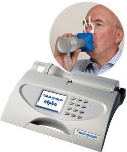 Tabletop spirometer / USB ALPHA Vitalograph