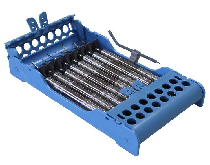 Dental instrument sterilization cassette / perforated E-Z Jett® 50Z927 ZIRC