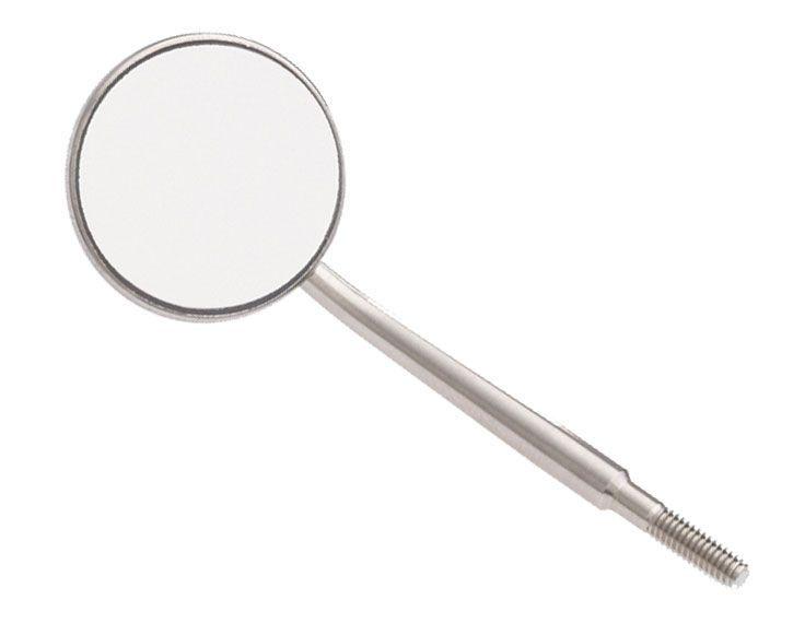 Dental mirror / stainless steel Crystal HD™ #4 ZIRC
