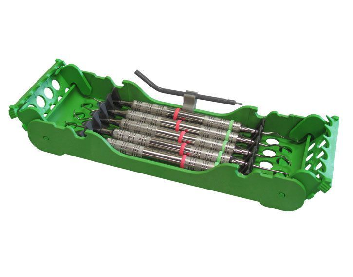 Dental instrument sterilization cassette / perforated E-Z Jett® 50Z925 ZIRC