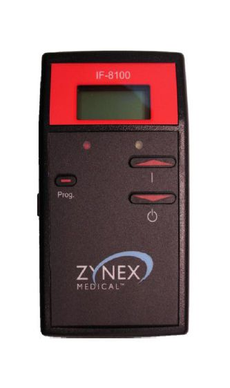 Electro-stimulator (physiotherapy) / hand-held / IF / 1-channel IF8100™ Zynex Medical