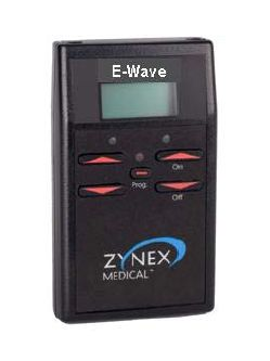 Electro-stimulator (physiotherapy) / hand-held / 1-channel E-WAVE™ Zynex Medical