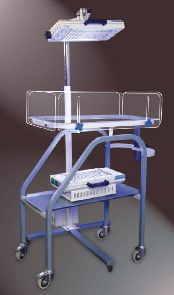 Infant phototherapy lamp / on casters DSP-100 CFL V-Care Medical Systems