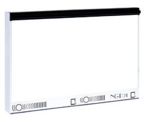 White light X-ray film viewer / 2-section / with switch 4200 cd/m², 72 x 43 cm | NGP-20 HF Ultraviol