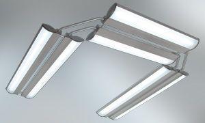 Ceiling-mounted lighting / dentist office Axeon zenium