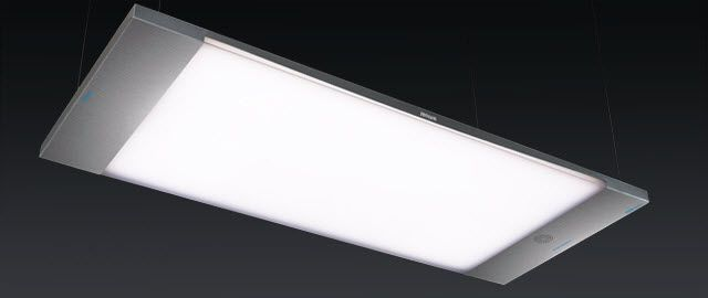 Ceiling-mounted lighting / for healthcare facilities / LED 2600 - 4240 lux | PRISM zenium