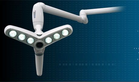 LED surgical light / with video camera / 1-arm 32 000 lux | ZYO zenium