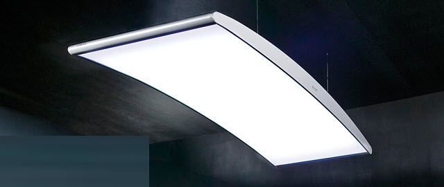 Ceiling-mounted lighting / for healthcare facilities CHROM zenium