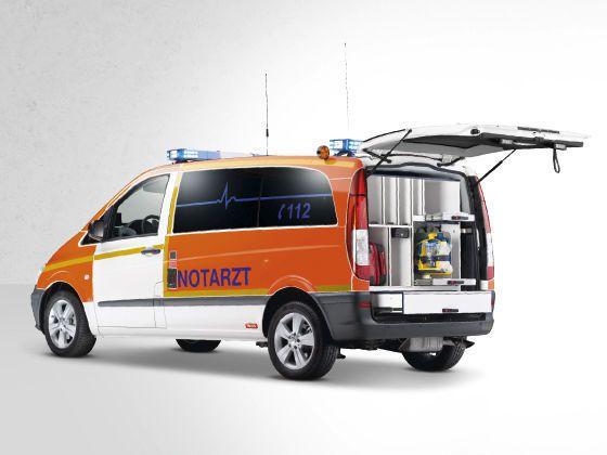 Emergency ambulance / van Mercedes-Benz Vito FRV Wietmarscher Ambulanz- und Sonderfahrzeug GmbH