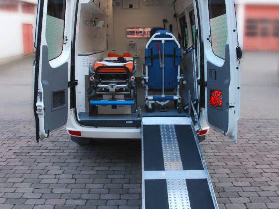 Emergency medical ambulance / type B / van 3,88 T Wietmarscher Ambulanz- und Sonderfahrzeug GmbH