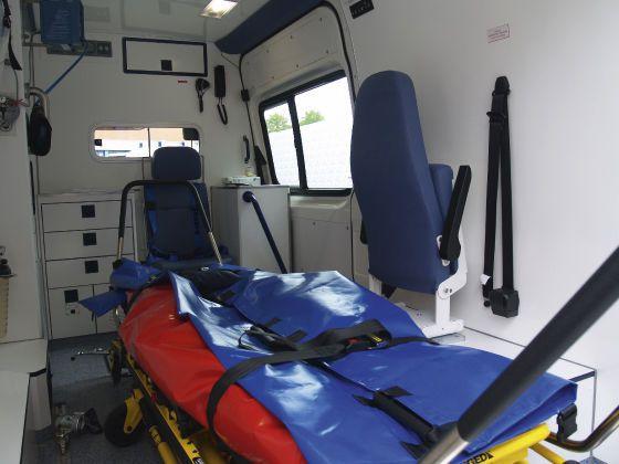Bariatric medical ambulance / transport / type B / van 3,88 T Wietmarscher Ambulanz- und Sonderfahrzeug GmbH