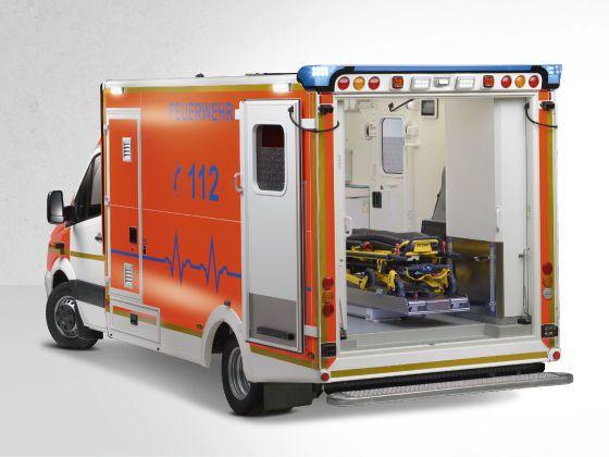 Emergency ambulance / for infectious risks / type C / box body 5 T Wietmarscher Ambulanz- und Sonderfahrzeug GmbH